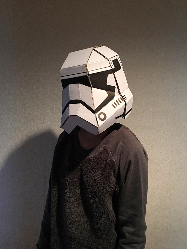 STORMTROOPER'S MASK